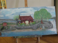 Donatsarah Paintings , each at $60.00. Buy 5 get one free.
