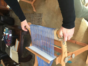 Ashford weaving loom