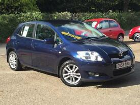 2008 Toyota Auris 1.6 MMT TR Automatic 5 Door Blue only 50,565 Miles SUPERB!!!!!