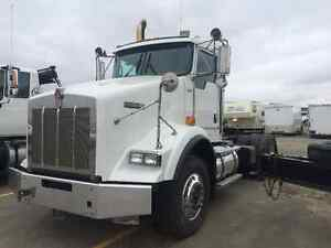 2008 Kenworth T800 Day Cab DPF Deleted with Wet Kit