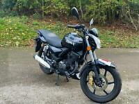 KSR Moto Worx 125cc Motorbike 125 Black Manual LOW MILEAGE