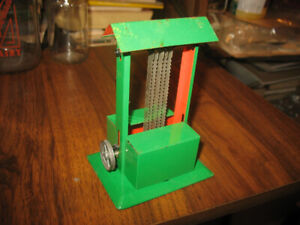 Pulley Operated Toy Band Saw (Works)
