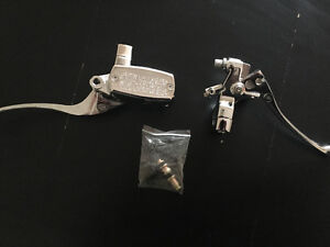 """Brand new 1"""" clutch and brake lever. Chrome"""