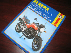 Manuel atelier Suzuki GSX GS 1000 1100 1150 Haynhes Shop Manual