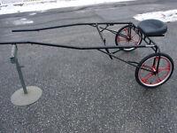 NEW mini horse pony cart