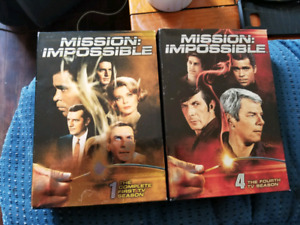Mission impossible dvds
