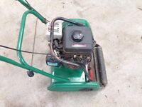 Kawasaki petrol self propelled cylinder mower