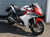 HONDA CBR 600 FA-B EX-POLICE MOTOR BIKE LOW MILEAGE SPORTS BIKE