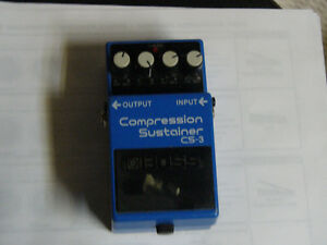 "For Sale: Boss Compression Sustainer CS-3 ""SOLD"""