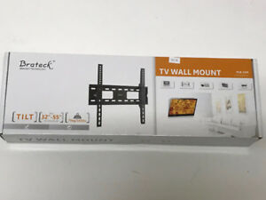 CLASSIC HEAVY-DUTY TILTING CURVED & FLAT PANEL TV WALL MOUNT