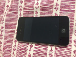 iPhone 4S in perfect condition for sale, comes with charger