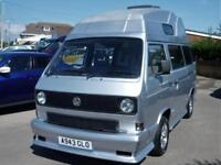 VW TRANSPORTER T3 T25 CAMPER VAN VERY TIDY DRIVES LOVELY
