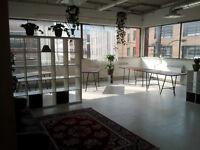 Atelier d'artiste à partager, Mile End / Mile End artist studio