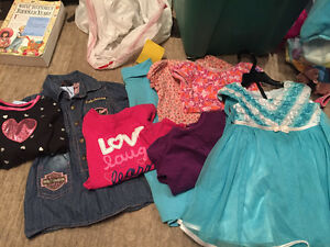 12 nth girls clothes and Christmas dress