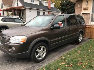 2008 Pontiac Montana SV6 Minivan,  valid Emission test