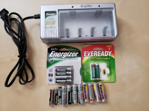 Energizer Battery Charger & Batteries