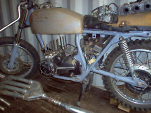 1974 Honda 400 Four Parts Bike