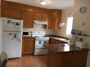 Fully Furnished renovated 2 bed/1bath private mobile Peace River