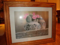 Reduced! Large Rustic Mexican type Framed Print