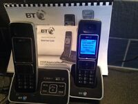 BT4500 Twin Phones with answer phone