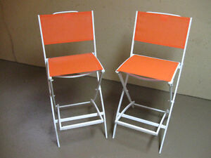 Like New Director Chairs With Foot Rest