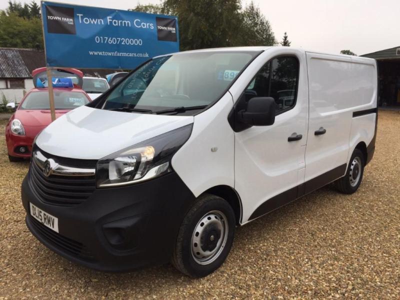 bf0fdc6829fa1c 2015 Vauxhall Vivaro 2700 1.6CDTI 115PS H1 Van 4 door Panel Van ...