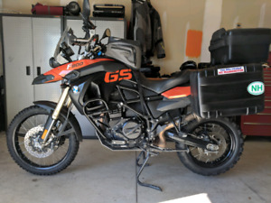 2010 BMW F800GS 800 GS Black/Orange *Loaded with Optional Access