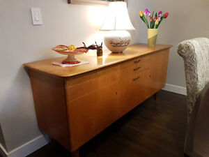 Solid cherry wood buffet
