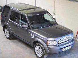 Land Rover Discovery 4 Commercial 3.0SDV6 255ps AUTO GREY 63 Plate 8 speed