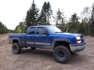 2003 silverado 1500 4x4 lift 6pouce