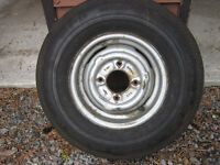 New Trailer Tire on Rim size 5.20 - 10