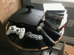 PlayStation 3 Slim Console- 320GB (CECH-3001B) HUGE BUNDLE