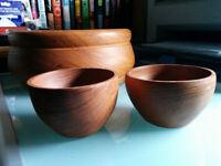 Teak Bowls - $20 OBO