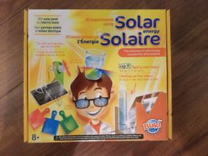 30 expériences sur l'énergie solaire - coffret d'activités