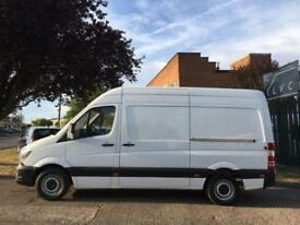 2015 15 MERCEDES-BENZ SPRINTER 2.1 313 CDI MWB HIGH ROOF 130BHP. VERY LOW 19,000