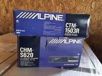 Alpine Head Unit & Cd Changer
