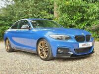 2014 BMW 2 Series 2.0 220d M Sport (s/s) 2dr Coupe Diesel Manual