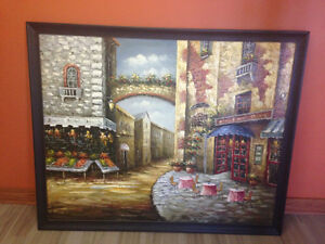 Beautiful Original Oil Painting 5ft by 4 ft