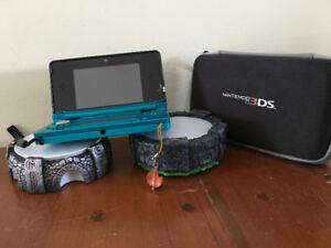 Console Nintendo 3DS, Figurines et Jeux