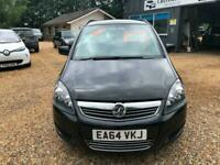 2014 Vauxhall Zafira 1.8i [120] Exclusiv 5dr MPV Petrol Manual