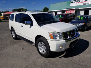 NISSAN ARMADA 4X4 *** FULLY LOADED SUV *** CERTIFIED  $9995
