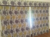 Beautiful curtains and blinds
