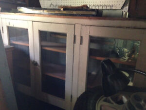 Vintage Upper Cabinets, Base Available
