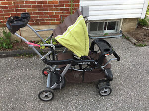Sit-N-Stand Stroller