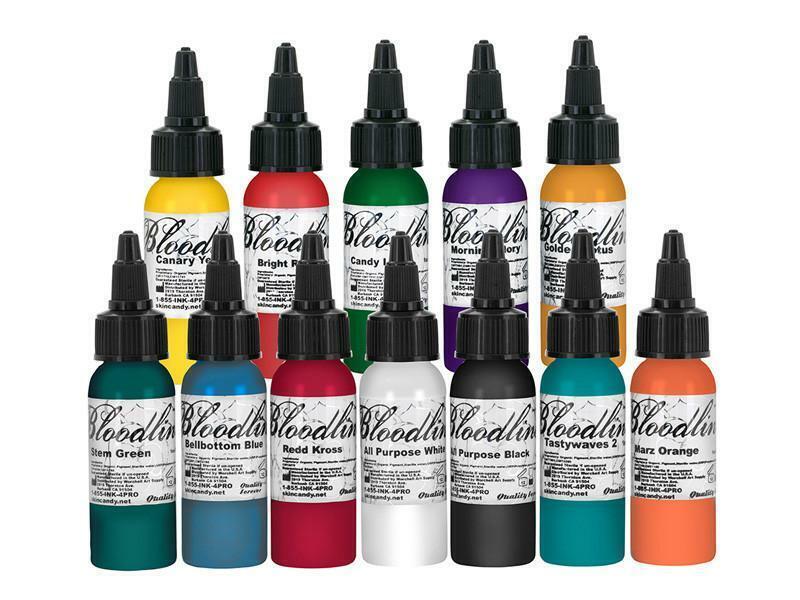 Bloodline 12 Color Tattoo Ink Set