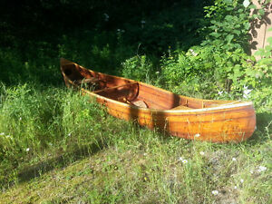 looking for small trailer for long canoe