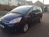 Citron C4 Grant Picasso 2.0 Diesel Automatic 5dr 7seats Service History
