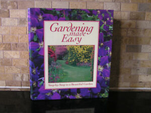 Gardening Made Easy Reference Book Binder Like New