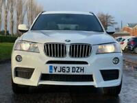 2013 BMW X3 3.0 XDRIVE30D M SPORT 5d 255 BHP Auto Estate Diesel Automatic