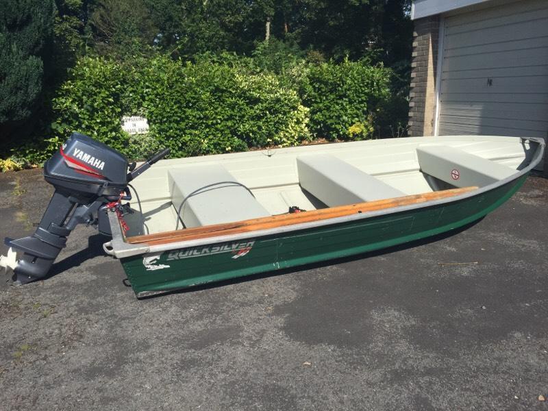 Quicksilver 355 ali fishing boat with 8 yamaha in for Yamaha fishing boats